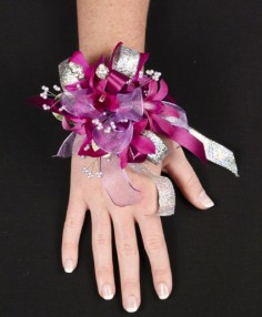 PURPLE PARADISE Prom Corsage in Cedar City, UT | JOCELYN'S FLORAL INC.