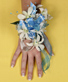 BLUE HEAVEN Prom Corsage