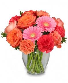 PETAL PERFECTION Flower Arrangement Best Seller in Beaufort, SC | ARTISTIC FLOWER SHOP