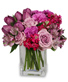 PRECIOUS PURPLES Arrangement Best Seller