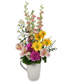 PERK ME UP Bouquet in Milton, MA | MILTON FLOWER SHOP, INC