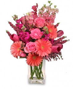 LOVE ALWAYS Arrangement in Bath, NY | VAN SCOTER FLORISTS 