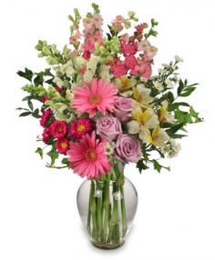 AMAZING MAY BOUQUET Mother's Day Flowers in Dieppe, NB | DANIELLE'S FLOWER SHOP