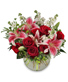 STARTS IN THE HEART Flower Arrangement