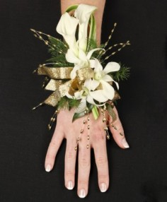 CLASSY CANDLELIGHT Prom Corsage in Cedar City, UT | JOCELYN'S FLORAL INC.