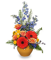 HIGH STYLE BLOOMS Summer Arrangement
