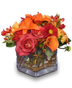 SEASONAL POTPOURRI  Fresh Floral Design in Cut Bank, MT | ROSE PETAL FLORAL & GIFTS