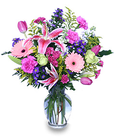 YOU'RE ONE IN A MILLION! Fresh Flowers in Bath, NY | VAN SCOTER FLORISTS