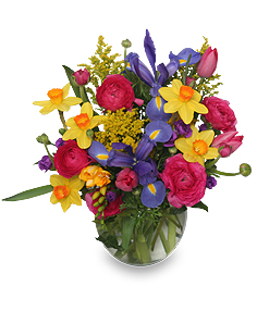 SPRING PROMISES Flower Bouquet in Hillsboro, OR | FLOWERS BY BURKHARDT'S