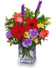 FLORAL TAPESTRY Bouquet of Flowers in Abbotsford, BC | BUCKETS FRESH FLOWER MARKET