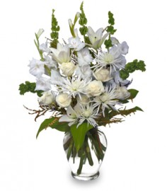 PEACEFUL COMFORT Flowers Sent to the Home in Walpole, MA | VILLAGE ARTS & FLOWERS