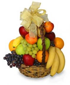 CLASSIC FRUIT BASKET Gift Basket in Santa Cruz, CA | BOULDER CREEK FLOWERS & DESIGN CO.