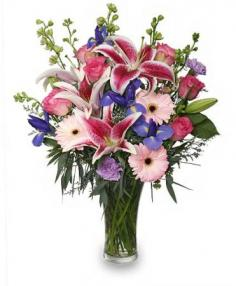 ENJOY YOUR DAY BOUQUET in Hillsboro, OR | FLOWERS BY BURKHARDT'S