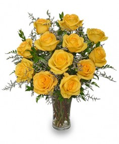 LEMON DROP ROSES Bouquet Best Seller in Mcfarland, WI | THE PETAL PATCH