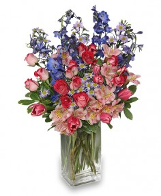 FLORAL SANCTUARY Bouquet in Jackson, MS | A BALLOON BASKET AND GIFT FLORIST DOWNTOWN