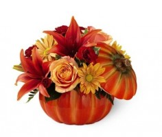 FTD Bountiful Bouquet Thanksgiving in Davis, CA | STRELITZIA FLOWER CO.