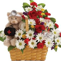 GET WELL BASKET! in Clarksburg, MD | GENE'S FLORIST & GIFT BASKETS