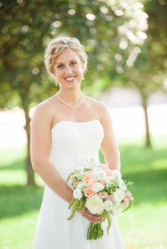 Kelly's Bridal Bouquet in Mcfarland, WI | THE PETAL PATCH