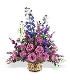 lavender basket in Caldwell, ID | BAYBERRIES FLORAL