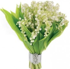LILY OF THE VALLEY BRIDAL BOUQUET in Rockville, MD | ROCKVILLE FLORIST & GIFT BASKETS