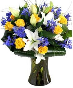 MIDNIGHT SUN FLOWERS  BOUQUET in Clarksburg, MD | GENE'S FLORIST & GIFT BASKETS