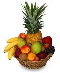 PREMIUM FRUIT BASKET Gift Basket in Bracebridge, ON | CR Flowers & Gifts ~ A Bracebridge Florist