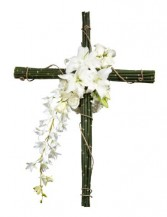 Remembering You Cross of Orchids