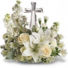 Crystal Cross in Windsor, ON | K. MICHAEL'S FLOWERS & GIFTS