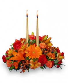 THANKSGIVING UNITY Centerpiece in Caldwell, ID | BAYBERRIES FLORAL